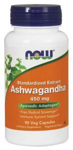Now Foods Ashwagandha 450 мг 90 капс