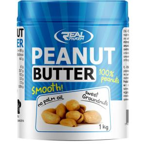 Peanut Butter Smooth 1000 г Real Pharm