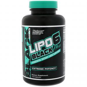 Lipo-6 Black Hers Ultra Powerful 120 капс Nutrex