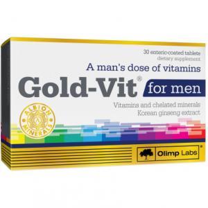 Gold-Vit for men 30 капс Olimp Labs