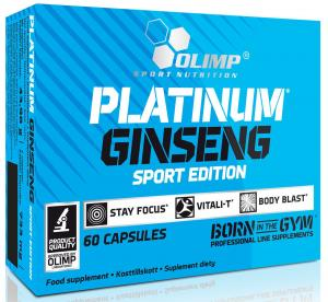 Olimp Platinum Ginseng 550 Sport Edition 60 капс