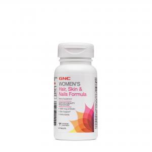 Womens hair skin nails formula 60 кап GNC