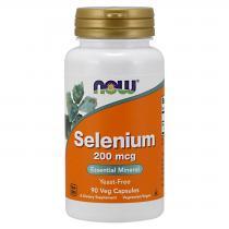 Selenium 200 180 капс Now Foods