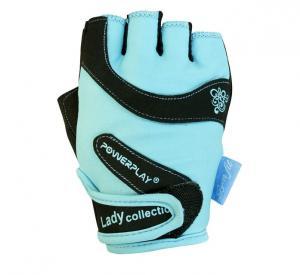 Перчатки WOMANS 1729-А голубые Power Play