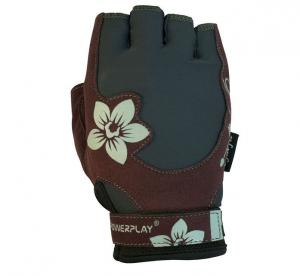 Перчатки WOMANS 1733 серо-коричневые Power Play