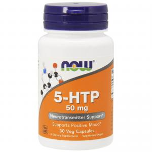 Now Foods 5-HTP 50 мг 30 капс