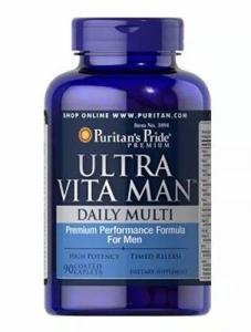 Puritan's Pride Ultra Vita Man 90 капс
