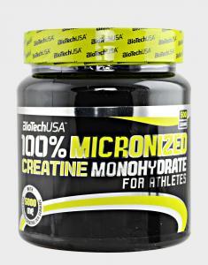Biotech 100% Creatine Monohydrate 500 г (банка)