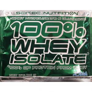 Scitec Nutrition 100% Whey Isolate 25 г