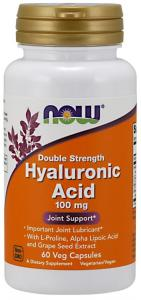 Now Foods Hyaluronic Acid 100 мг 60 капс