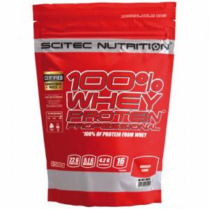 Scitec Nutrition 100% Whey Protein Prof. 500 г