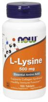 Now Foods L-Lysine 1000 мг 100 табл.