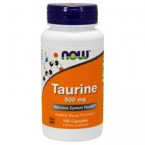 Now Foods Taurine 500 100 капс