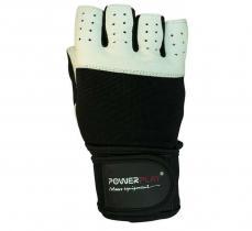 Перчатки MENS 1069 белые Power Play