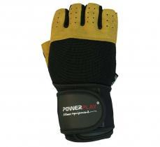 Перчатки MENS 1069-A коричневые Power Play