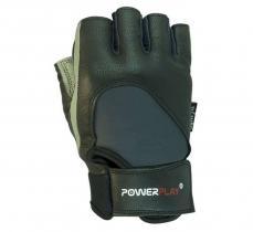 Перчатки MENS 1556 серо-черные Power Play