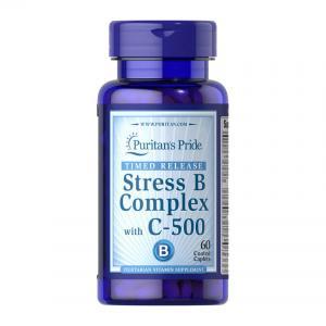 Puritan's Pride Stress B Complex with C-500 60 табл