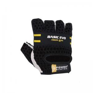 Перчатки Basic EVO PS-2100 черно-желтые Power System