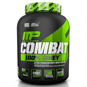 Combat 100% Whey 1814 г MusclePharm