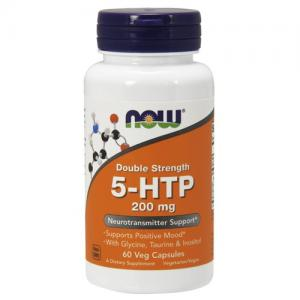 Now Foods 5-HTP 200мг 60 капс