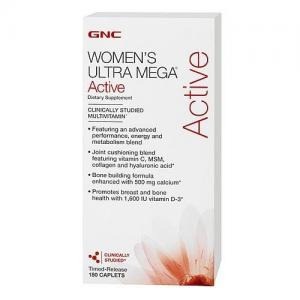Women's Ultra Mega Active 180 кап GNC