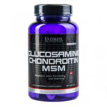 Glucosamine and CHONDROITIN MSM 90 таб Ultimate Nutrition