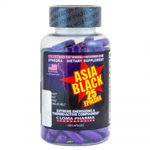 Cloma Pharma Asia Black-25 100 капс