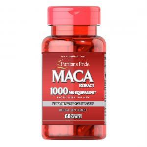 Puritan's Pride Maca 1000 mg 60 капс